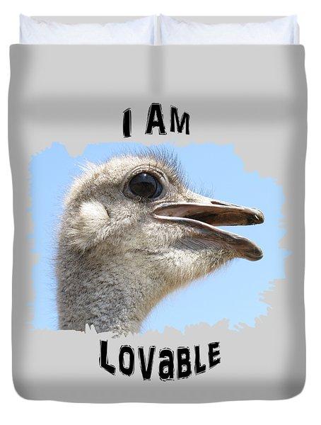 Lovable Duvet Cover