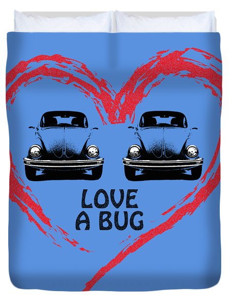 Love A Bug Duvet Cover