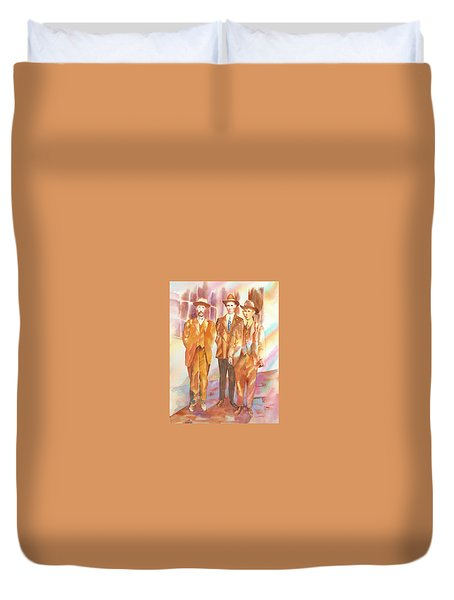 Love And Honor Among The Nation Men, 1919 Duvet Cover