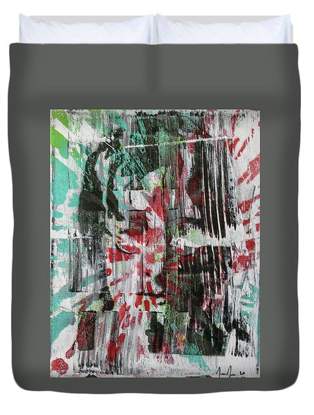 Love And Peace Are Eternal Duvet Cover