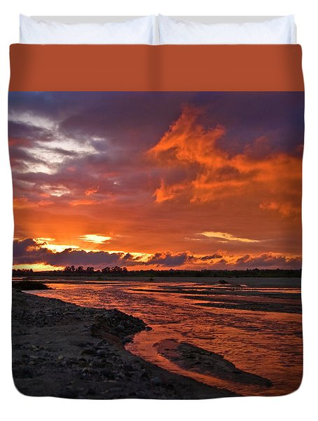 Love At First Light Duvet Cover