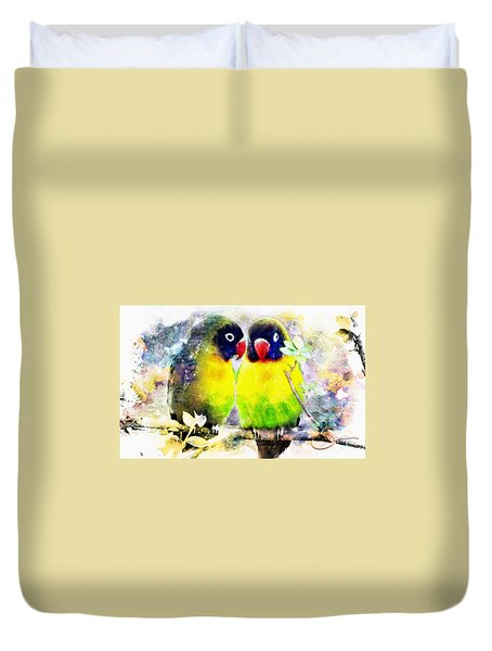 Love Birds2 Duvet Cover