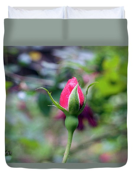 Love Blooming Duvet Cover