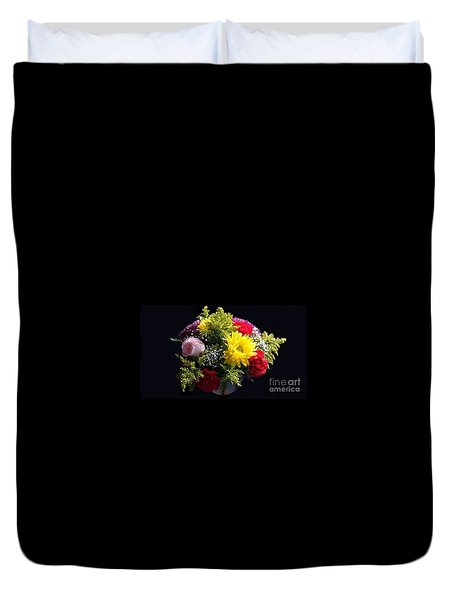 Duvet Cover featuring the photograph Love Bouquet by Becky Lupe