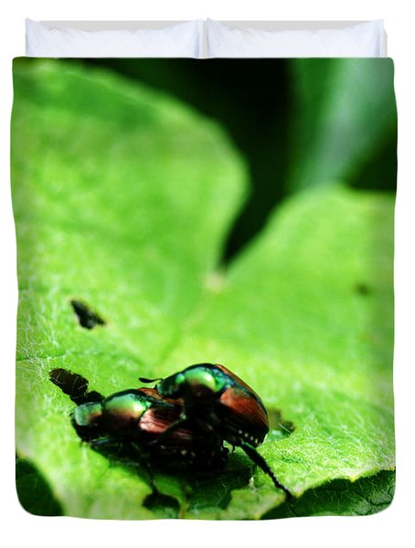 Love Bugs Duvet Cover