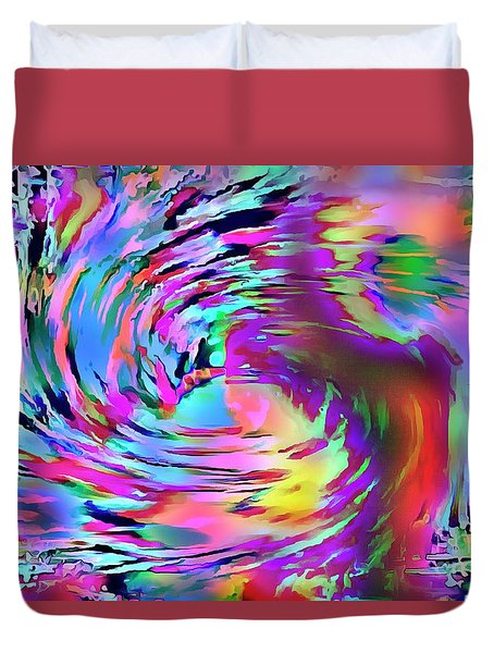 Love Comes Around Duvet Cover