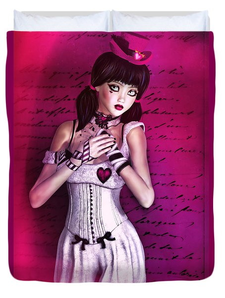 Love Doll Duvet Cover