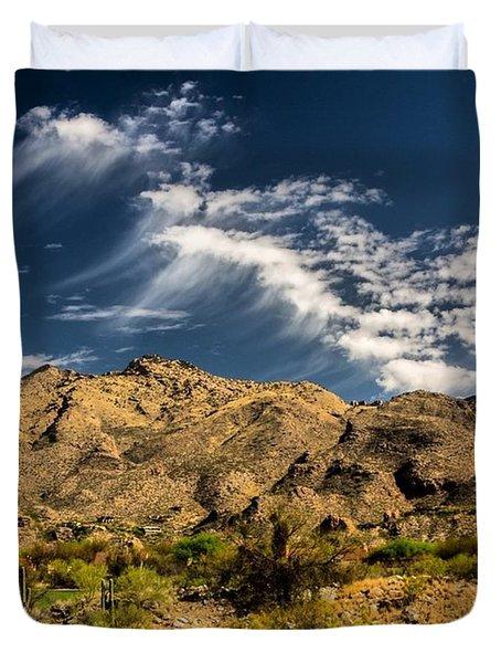 #love How The #desert Has Kept Its Duvet Cover