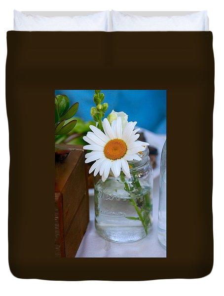 Love In A Jar Duvet Cover
