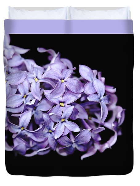 Love In Lilac Duvet Cover