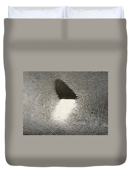 Love In The Rain Duvet Cover