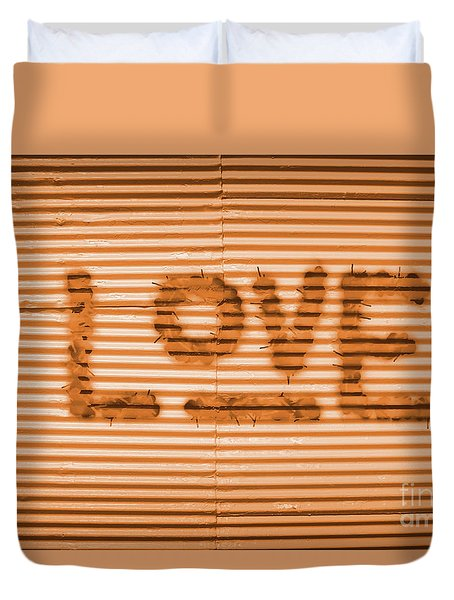 Love Is All Duvet Cover