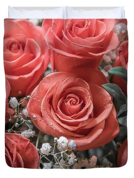 Love Is In Bloom 2 Duvet Cover
