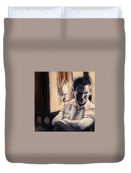 Love Is So Short Duvet Cover by Jean Cormier