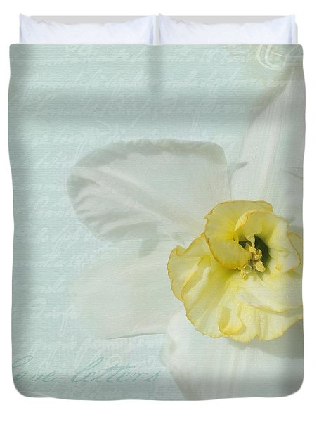Love Letters From A Spring Romance Duvet Cover by Cindy Garber Iverson