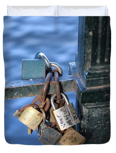 Love Lock Duvet Cover