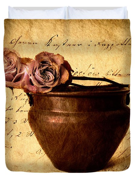 Love Notes Duvet Cover