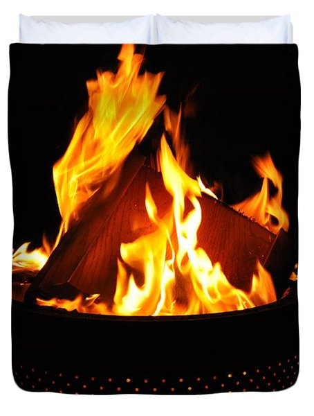 Love Of Fire Duvet Cover