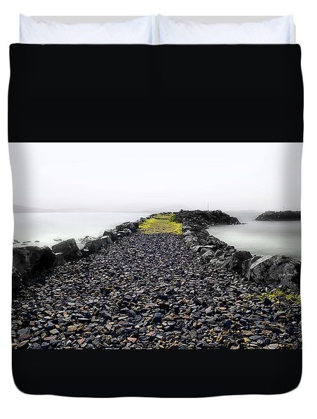 Duvet Cover featuring the photograph Love Of The Sea 01. by Kevin Chippindall