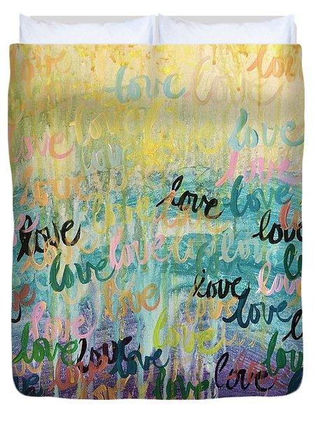 Love Reigns Duvet Cover