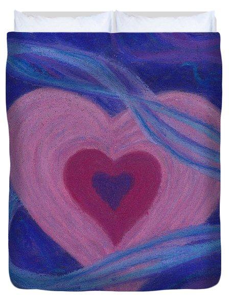 Love Ribbons Duvet Cover
