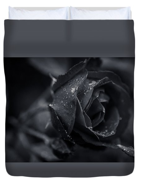 Sweet Love Roses And Water Duvet Cover