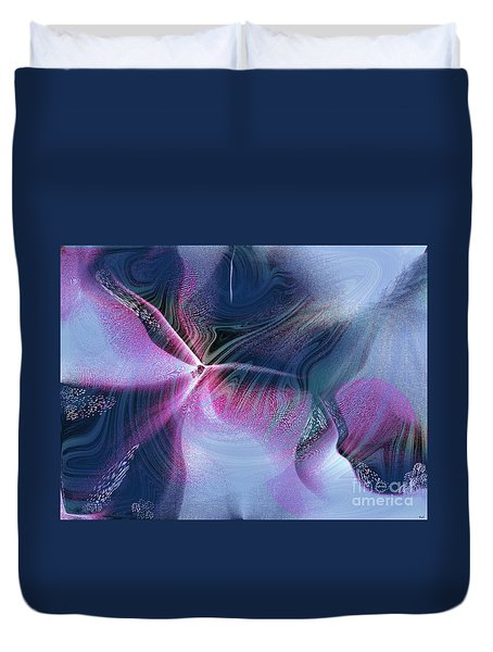 Nature And Abstraction Duvet Cover by Yul Olaivar