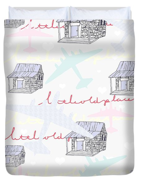 Love Shack Duvet Cover by Beth Travers