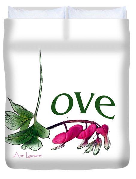 Love Shirt Duvet Cover