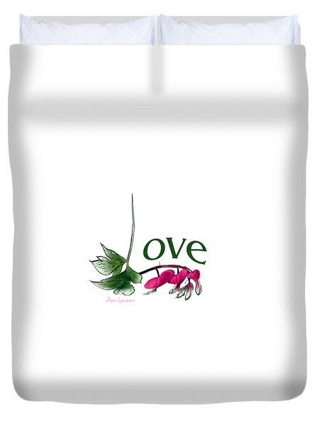 Love Shirt Duvet Cover