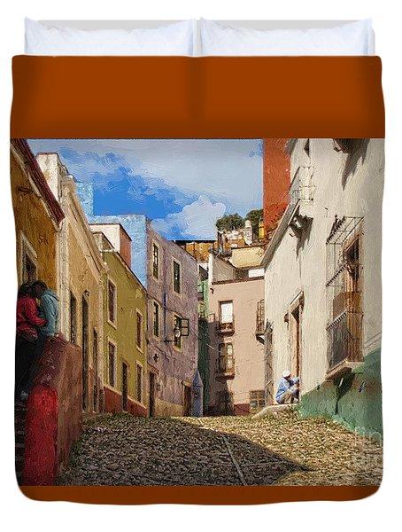 Love Street Duvet Cover