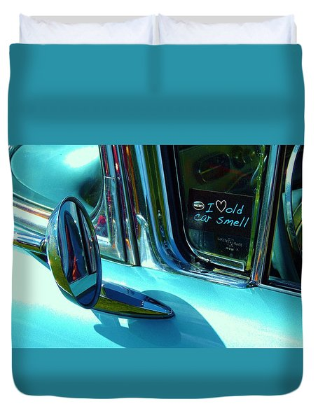 Love That Old Car Smell Duvet Cover