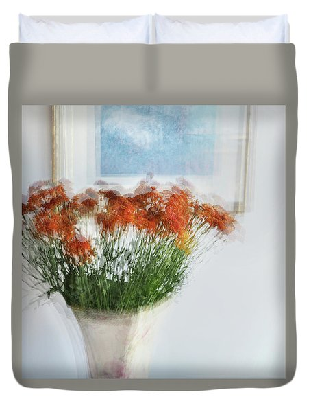 Love To Mother Duvet Cover