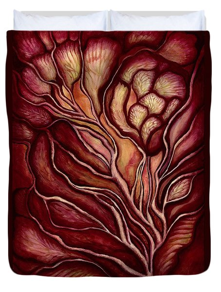 Love Under The Manzanita Duvet Cover