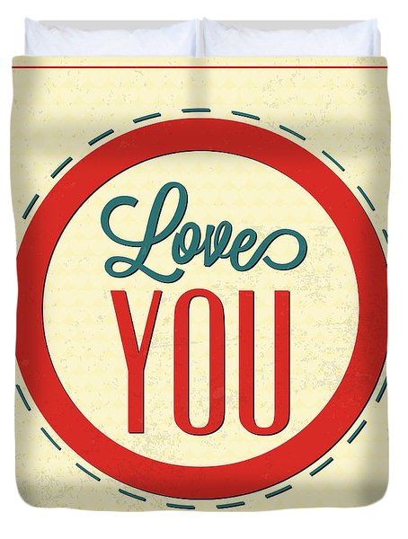 Love You Forever Duvet Cover