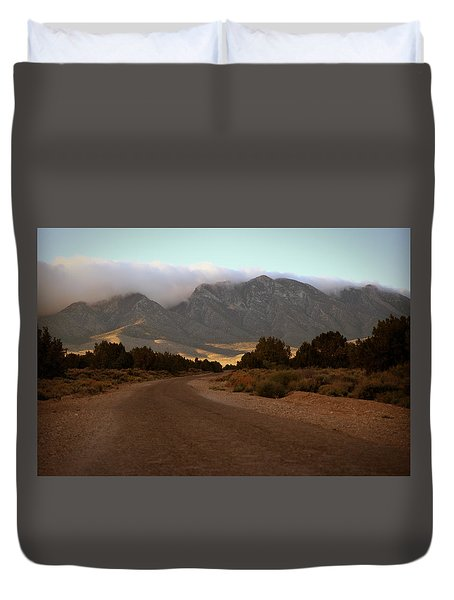 Lovel Canyon Road Duvet Cover
