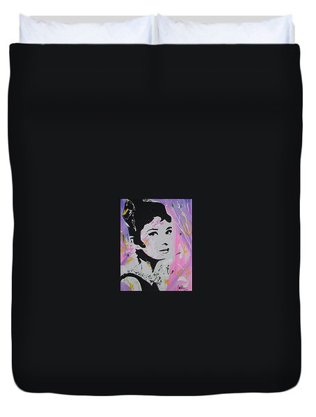 Lovely Audrey Duvet Cover