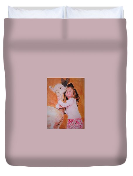 Sensitivity. Duvet Cover by Khalid Saeed