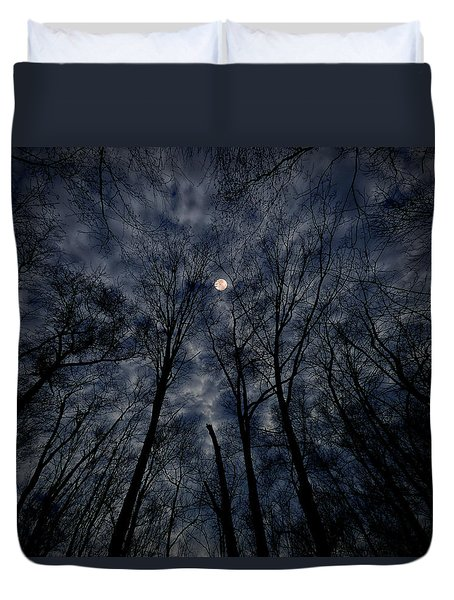 Duvet Cover featuring the photograph Lovely Dark And Deep by Robert Geary