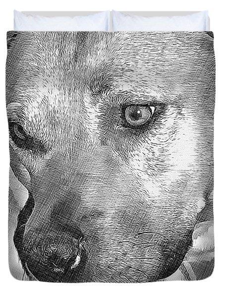 Lovely Dog Duvet Cover