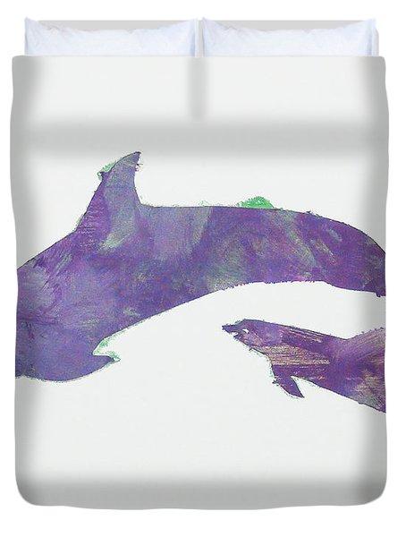 Lovely Dolphins Duvet Cover