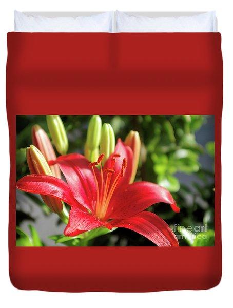 Lovely Flower Duvet Cover