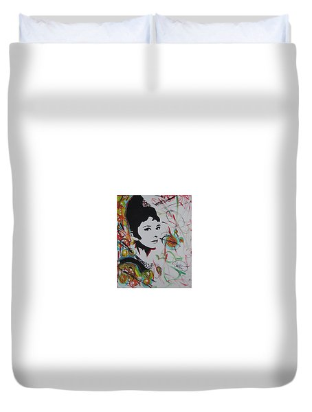 Lovely Hepburn Duvet Cover