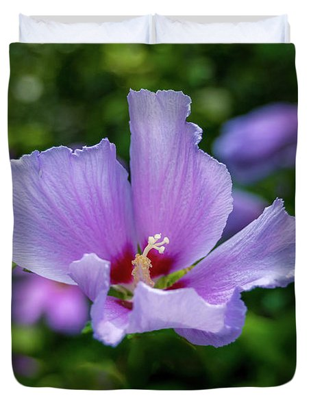 Lovely Hibiscus Duvet Cover