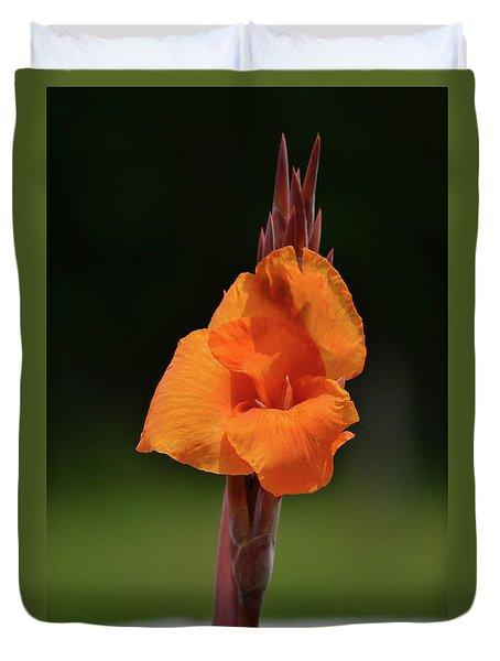Lovely Iris Flower Duvet Cover