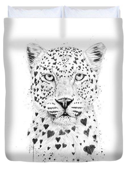 Lovely Leopard Duvet Cover
