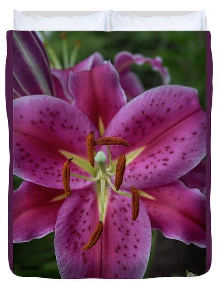 Lovely Lily Duvet Cover