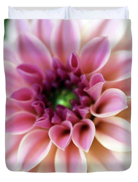 Lovely Little Dahlia Duvet Cover
