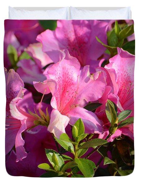 Lovely Pinks Duvet Cover