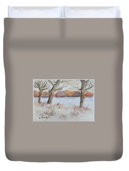 Lovers' Lake Duvet Cover
